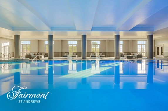 5* Fairmont St Andrews luxury spa day
