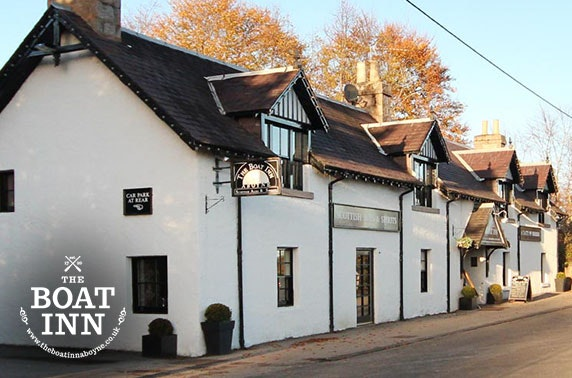 Peaceful Boat Inn stay, Aboyne