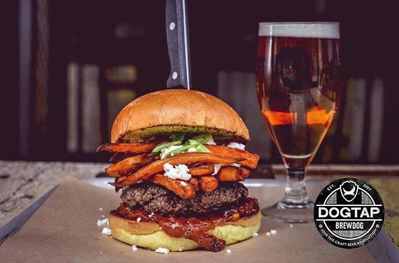 Burgers At Dogtap Ellon Itison