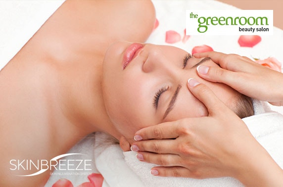Greenroom Beauty Salon microdermabrasion facial