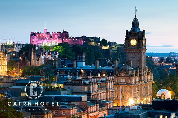 Edinburgh City Centre stay - from £59