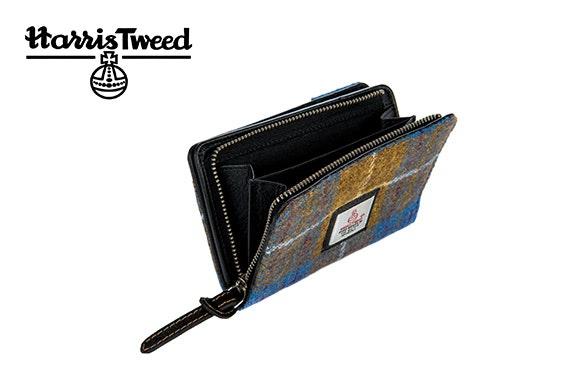 Harris Tweed zip purse