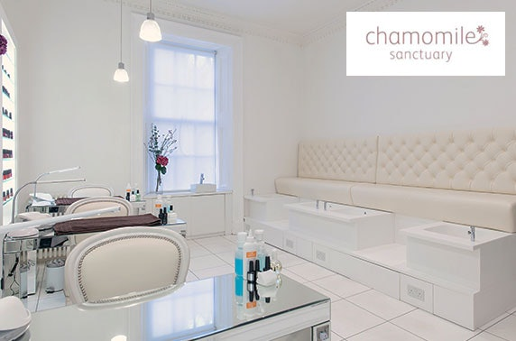 Anti-ageing facials at Chamomile Sanctuary, West End