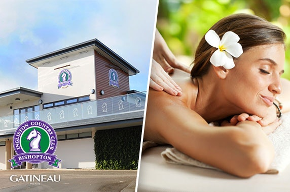 Ingliston Country Club award-winning spa treatments