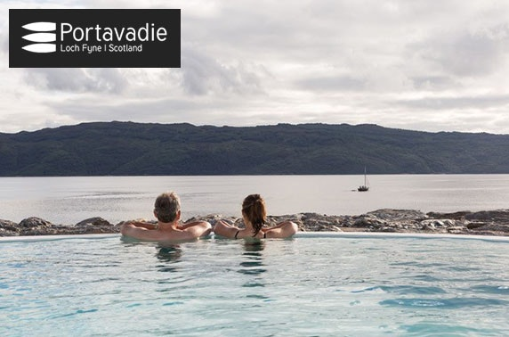 Award-winning Portavadie spa experience & lunch, Loch Fyne