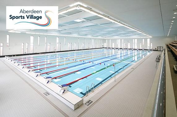 Aberdeen Sports Village membership