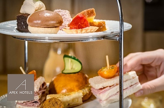 Afternoon tea at Apex City of Glasgow, City Centre