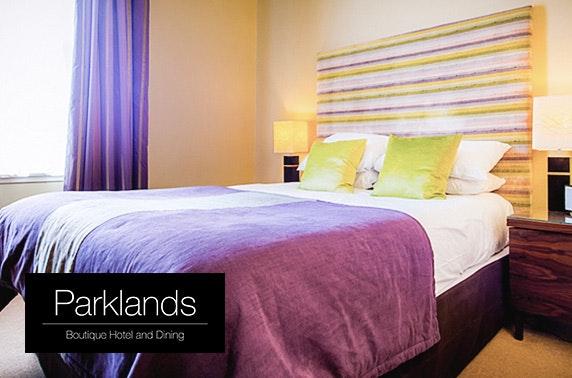 Award-winning Parklands Hotel stay