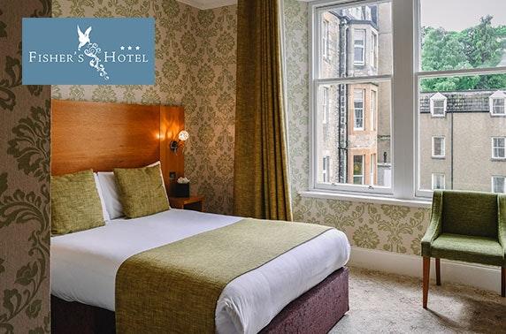 Fisher's Hotel Sunday DBB, Pitlochry - £89