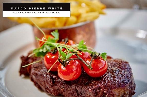 Marco Pierre White steaks & wine