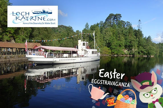 Easter Eggstravaganza sailings at Loch Katrine