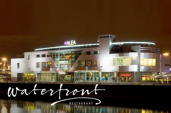 Alea Glasgow dining & wine at Waterfront Restaurant