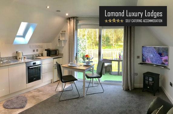Lomond Luxury Lodges apartment stay