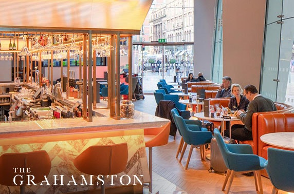 The Grahamston dining at 4* Radisson Blu