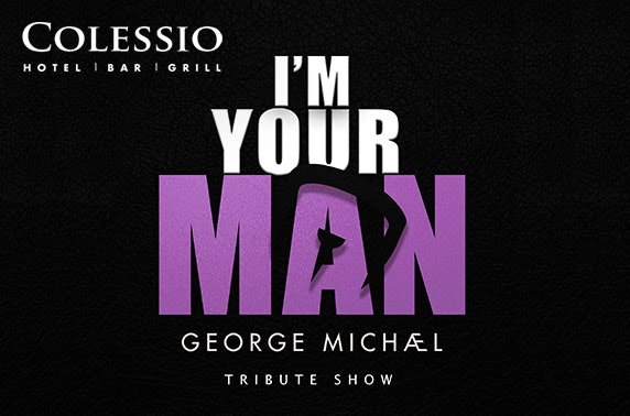 George Michael tribute show at 4* Colessio Hotel, Stirling