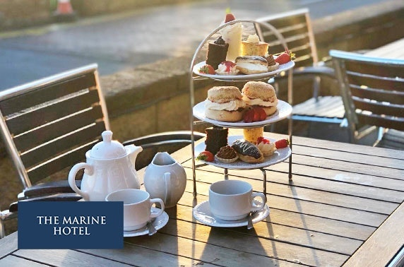 4* Marine Troon Hotel afternoon tea & leisure access