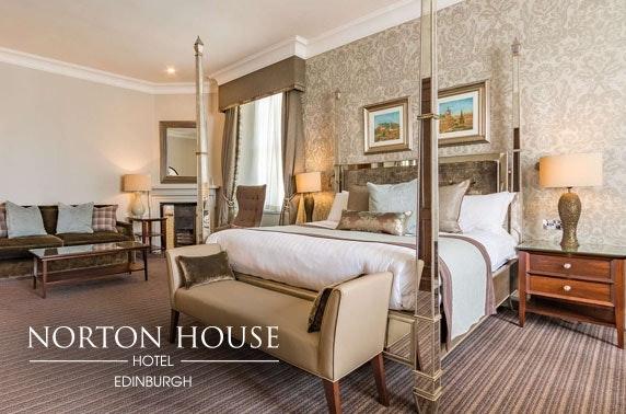 4* Norton House Hotel stay, nr Edinburgh