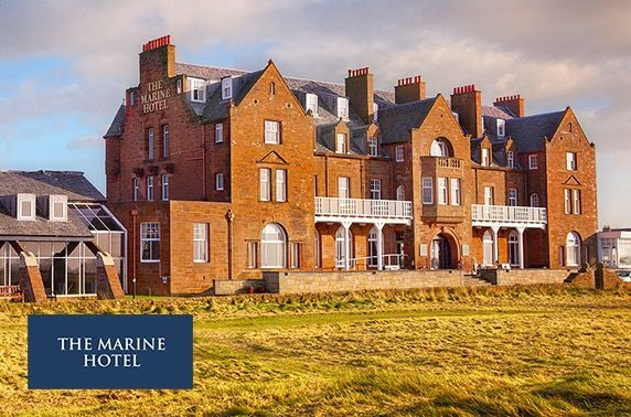 4* Marine Troon Hotel lunch & cocktails