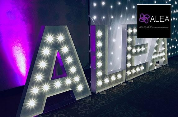 Alea Glasgow ladies night inc food & live music