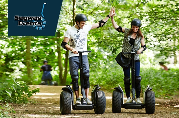 Segway experience, Vogrie Country Park