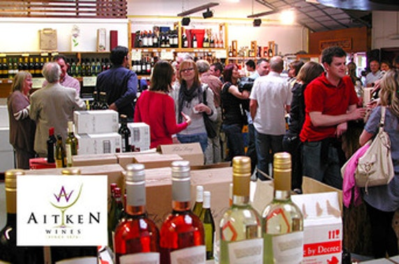 Champagne, gin or cheese & wine masterclasses at Aitken Wines
