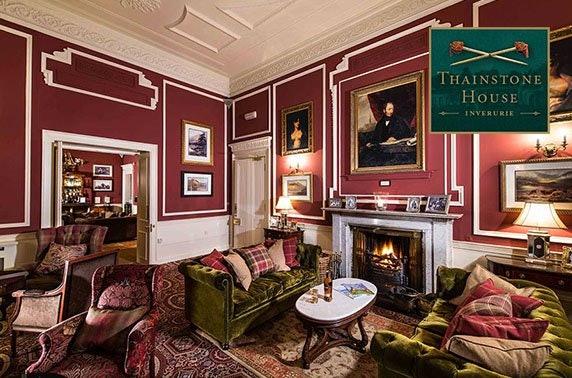 Thainstone House Hotel, Inverurie luxury getaway