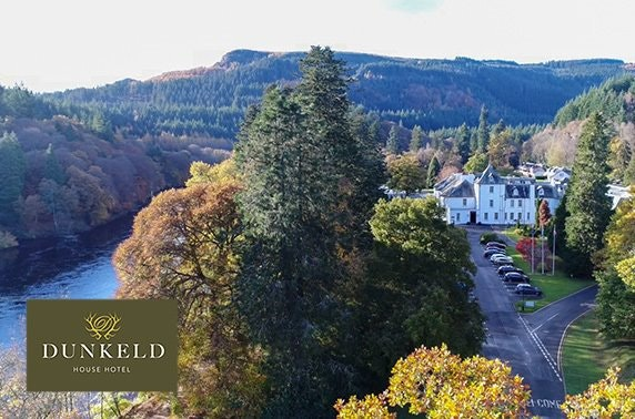 4* suite stay at Dunkeld House Hotel, Perthshire
