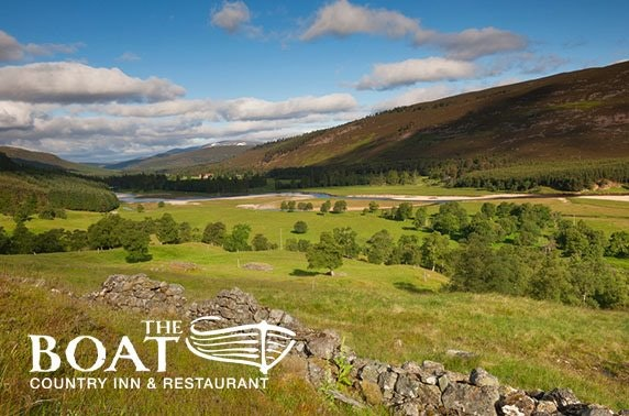 2 or 3 night Aviemore DBB – from £99