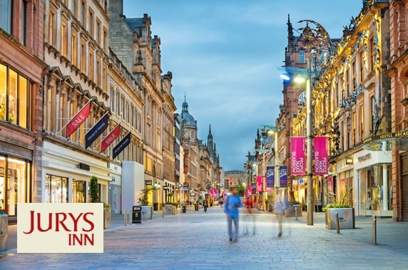 4* Glasgow City Centre stay with afternoon tea