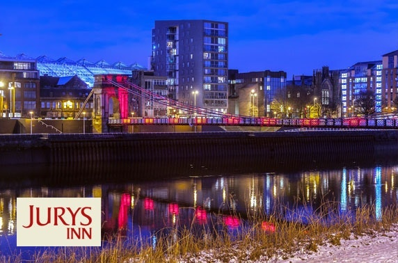 4* Jurys Inn Glasgow stay plus afternoon tea