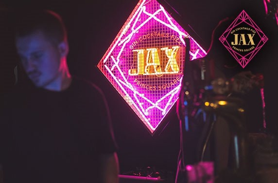 Brand new Jax, Princes Square food & drinks voucher