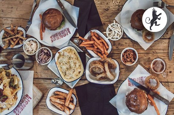 The Lioness of Leith burgers & sides