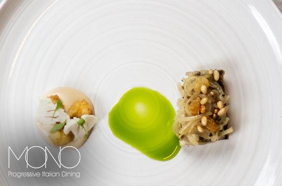Mono 4 or 7 course fine dining, City Centre