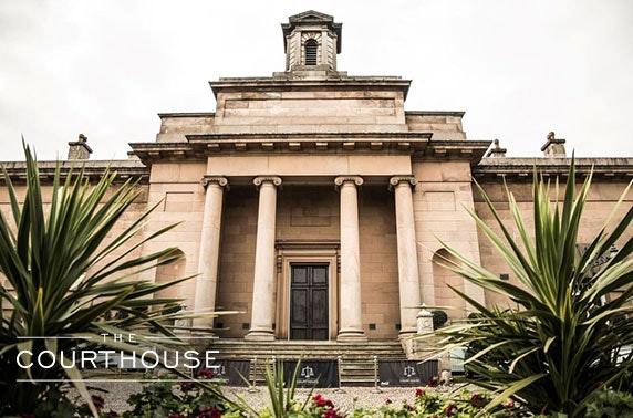 The Courthouse Sunday roast & wine, Cheshire