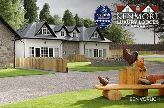 Kenmore Luxury Lodges from £28pppn
