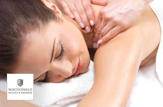 4* Macdonald Cardrona DBB inc optional spa treatment