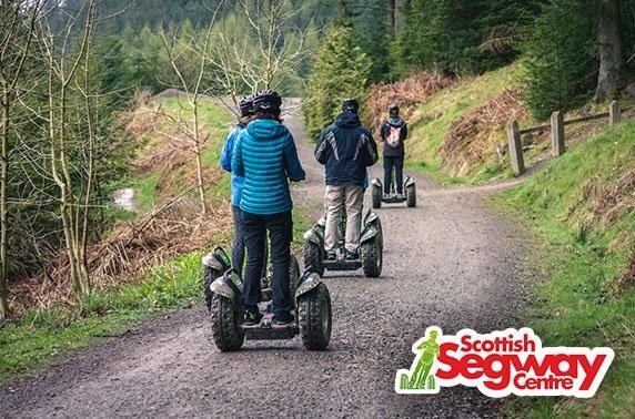 Segway adventure at Falkirk Wheel or Glencoe