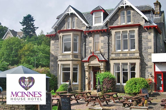 McInnes House Hotel stay, Cairngorms