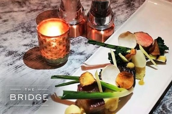 Cocktails & dining at The Bridge, Cheshire