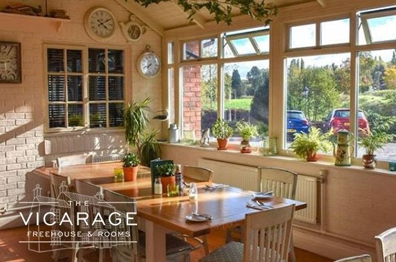 Cocktails & dining at The Vicarage, Cheshire