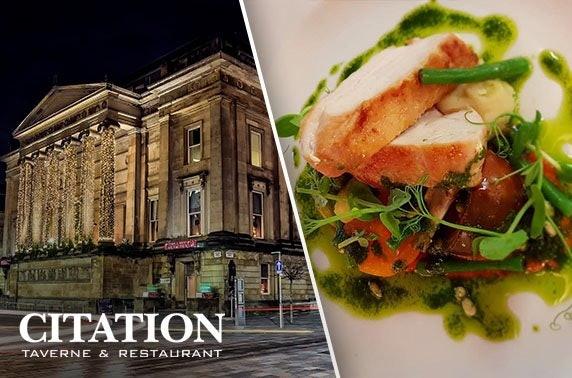 Citation dining & drinks, Merchant City