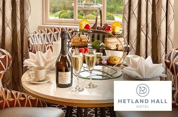 Hetland Hall Hotel afternoon tea