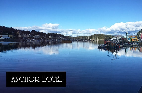 Luxury barge stay, Tarbert