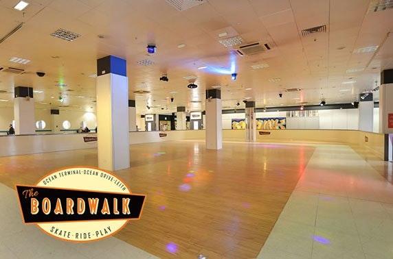 Rollerskating, Ocean Terminal - £4.50pp