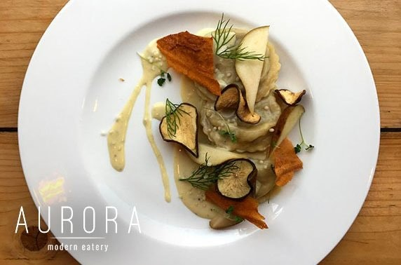 Award-winning Aurora fine dining