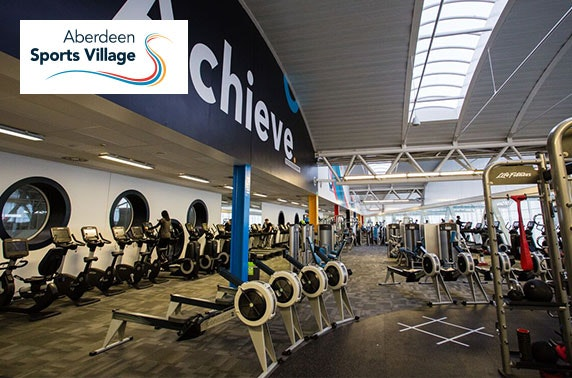 Aberdeen Sports Village membership