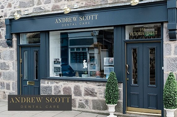 Andrew Scott Dental treatments