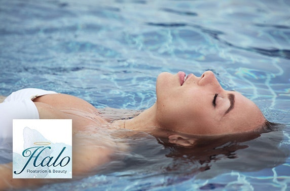 Floatation session & massage at Halo Floatation and Beauty