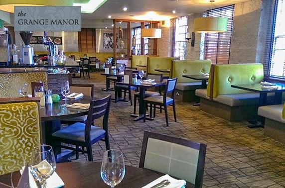 4* Grange Manor Hotel getaway