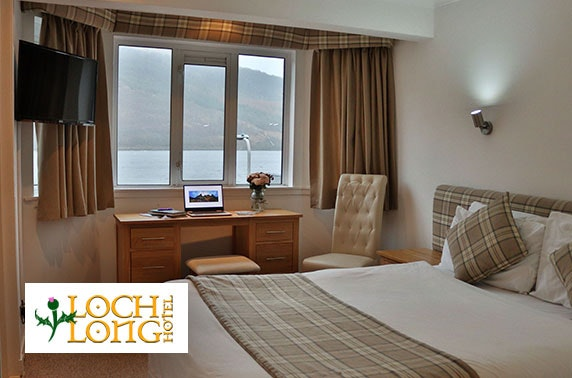 Loch Long Hotel DBB, near Loch Lomond - from £69